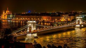 布达佩斯的桥-版权图片